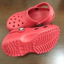 Crocs vermelha - Tamanho: 23/24 - 23 - Crocs