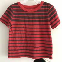 T-shirt vermelha e cinza Carter`s- Tamanho: 24 meses - 18 a 24 meses - Carter`s
