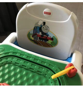 Cadeira de alimentação Booster - Thomas O Trem - Fisher Price - Sem faixa etaria - Fisher Price