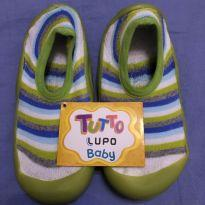 Meia co sola Tutto Baby Lupo - Tamanho: 22/23 - 22 - Lupo