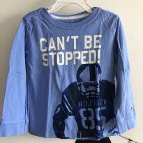 T-shirt manga longa azul claro Tommy Hilfiger - Tamanho: 3 anos - 3 anos - Tommy Hilfiger