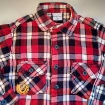 Camisa de flanela uma fofura - 2 anos - Bakulelê