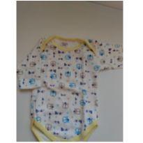 Body  ursinho - 3 a 6 meses - LUIZINHO BABY