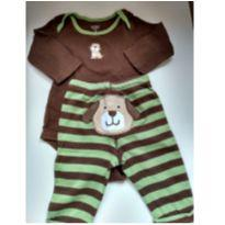 Conjunto do cachorrinho da Carter`s - 6 meses - Carter`s