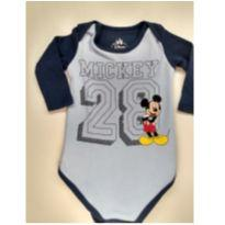 Body do Mickey - 6 a 9 meses - Disney baby