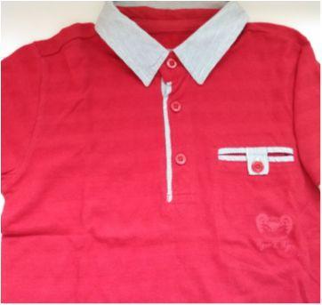Camiseta pólo Tigor - 2 anos - Tigor T.  Tigre