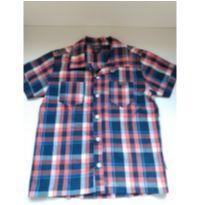 Camisa xadrez Tigor - 6 anos - Tigor T.  Tigre