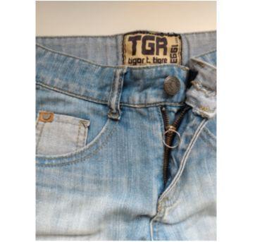 Bermuda jeans Tigor - 2 anos - Tigor T.  Tigre