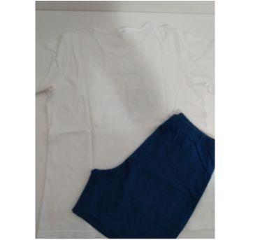Pijama UPMan branco - 8 anos - Upman