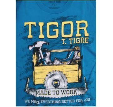 Camiseta Tigor manga longa - 8 anos - Tigor T.  Tigre