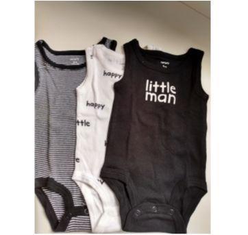 3 Body Carter`s Little man - 3 meses - Carter`s