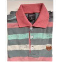 Camisa listrada Tigor - 6 anos - Tigor T.  Tigre