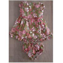 Vestido Floral - 12 meses - 9 a 12 meses - Hartstrings
