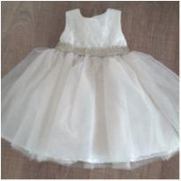 Vestido de Festa - 6 a 9 meses -  - Baby Beri