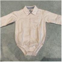 Camisa social / body Carters - 9 meses - Carter`s