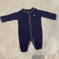 Macacão Ralph Lauren Saída de Maternidade - Recém Nascido - Ralph Lauren e Polo Ralph Lauren