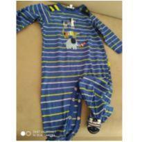 Macacão zebrinha - 6 meses - Le Top Baby