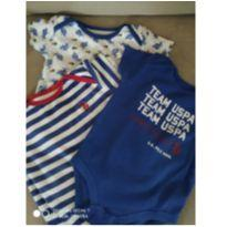 Kit Body Polo Ralph Lauren - 9 meses - Ralph Lauren