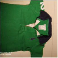 Camiseta Polo - 6 meses - Ralph Lauren