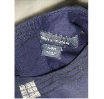 Vestido Azul Tommy Hilfiger - 6 a 9 meses - Tommy Hilfiger