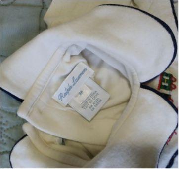 Macacão Ralph Lauren - 3 meses - Ralph Lauren