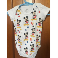 Body Mickey Mouse - 6 a 9 meses - Disney baby