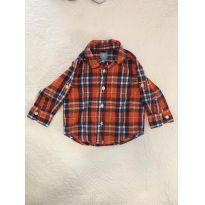 Camisa Xadrez Gap - 12 a 18 meses - Baby Gap e Gap/ Green/ Noruega