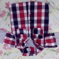 Blusa de frio Xadrez Azul - 1 ano - Trick