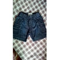 Bermuda jeans - 9 a 12 meses - Banana Danger