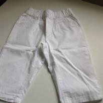 Calça branca - 3 a 6 meses - Tex