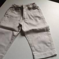 Calça tipo sarja - 6 a 9 meses - Lazy
