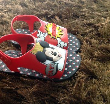 Sandália Mickey - 20 - Grendene