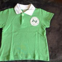 Camisa polo verde - 1 ano - Outra