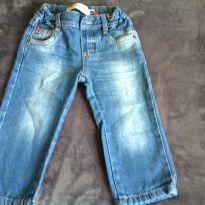 Calça jeans - 12 a 18 meses - Baby Club