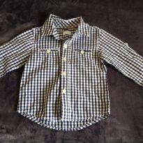 Camisa xadrez - 1 ano - Tex
