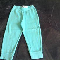 Calça azul em malha - 9 a 12 meses - Baby Club