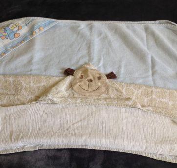 Lote com 2 toalhas de banho - Sem faixa etaria - Outras