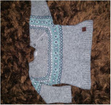 Blusa de lã Chicco - 18 meses - Chicco