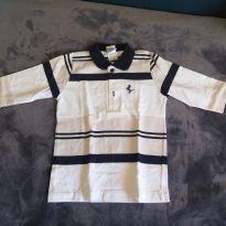 Camisa Polo listrada - 2 anos - Lazy