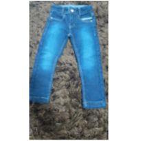 Calça jeans escuro - 2 anos - Via Onix