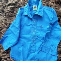 Camisa azul - 2 anos - Lazy