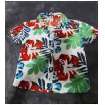 Camisa tropical - 2 anos - Teddy Boom