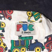 Camisa carrinhos - 2 anos - PUC