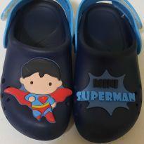 Babuche Mini Superman - 23 - Grendene Kids