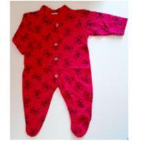Macacão pink com laços - Recém Nascido - Não informada