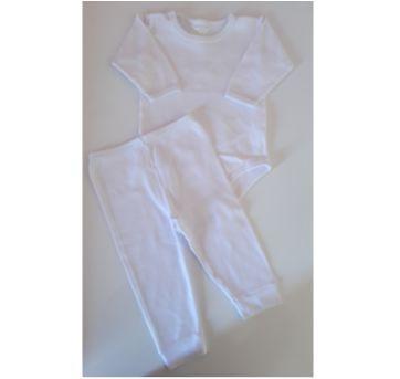 Conjunto Body e calça P - 0 a 3 meses - Odicon