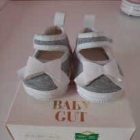 Sapato com laço branco - 02 - Baby Gut