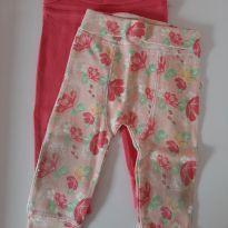 Kit 2 calças - 6 a 9 meses - Teddy Boom