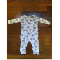 Tiptop malha cachorrinho de mola com cueiro - 3 a 6 meses - Up Baby e Up Babby