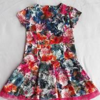 Vestido Floral - 6 anos - Paola BimBi